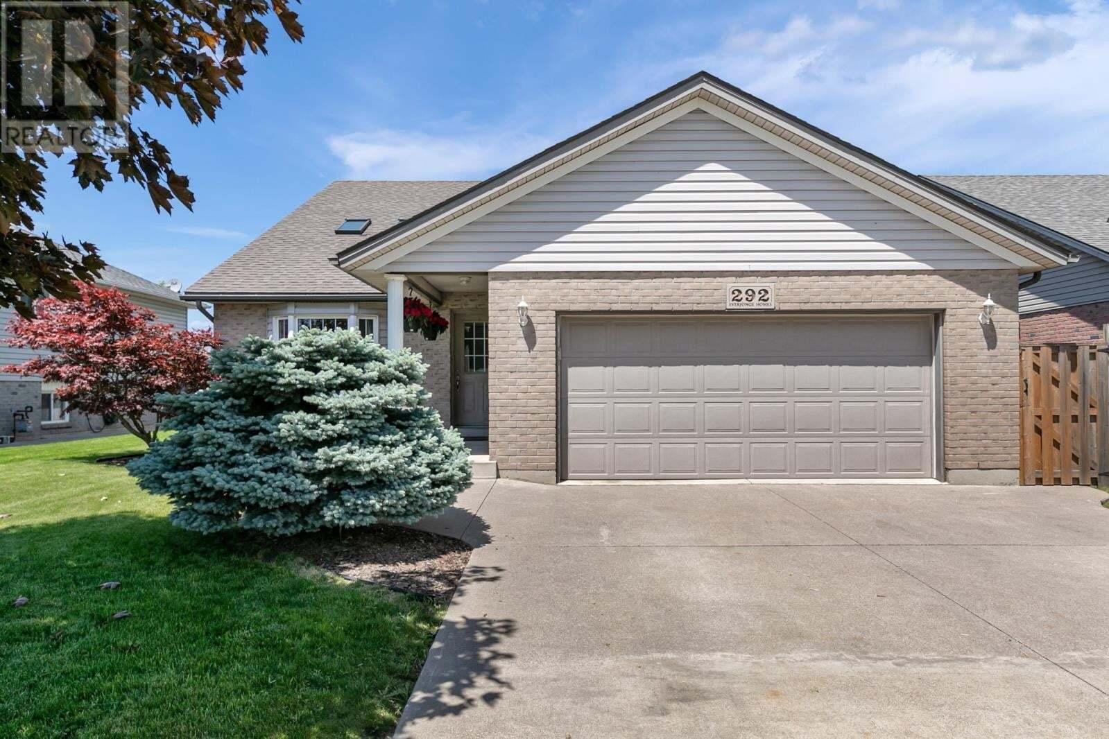 House for sale at 292 Mclellan  Amherstburg Ontario - MLS: 20006308