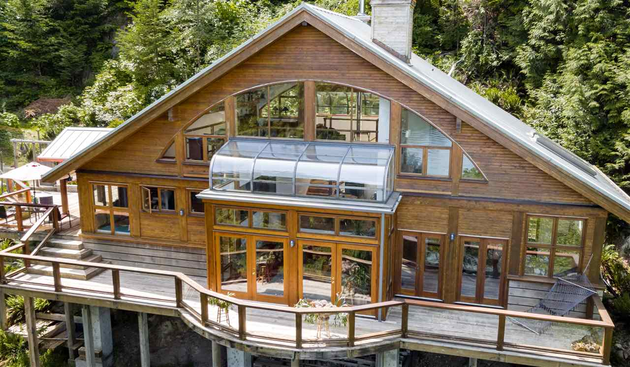 House For Sale Bowen Island Waterfront