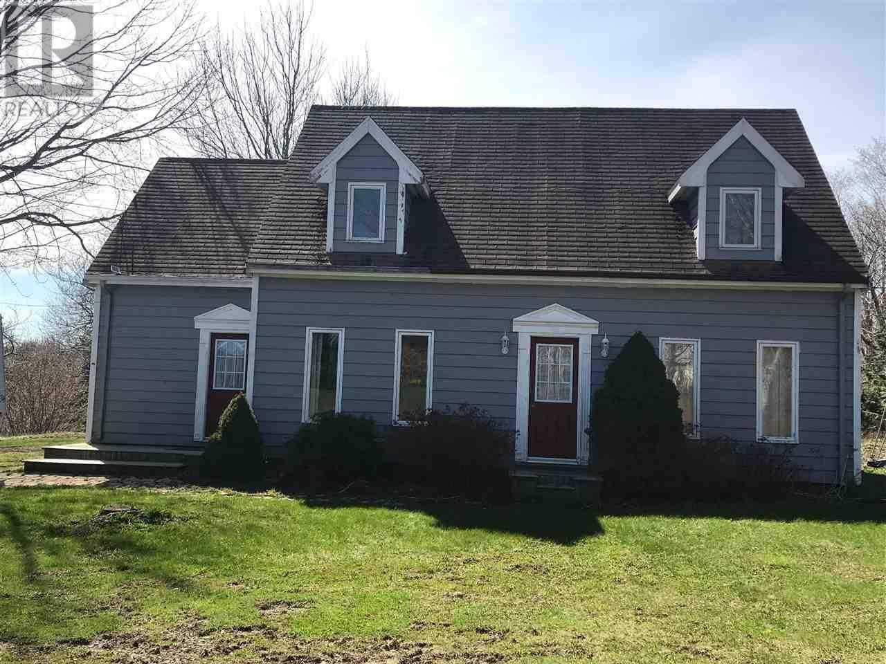 House for sale at 2920 Ridge Rd Acaciaville Nova Scotia - MLS: 201909778