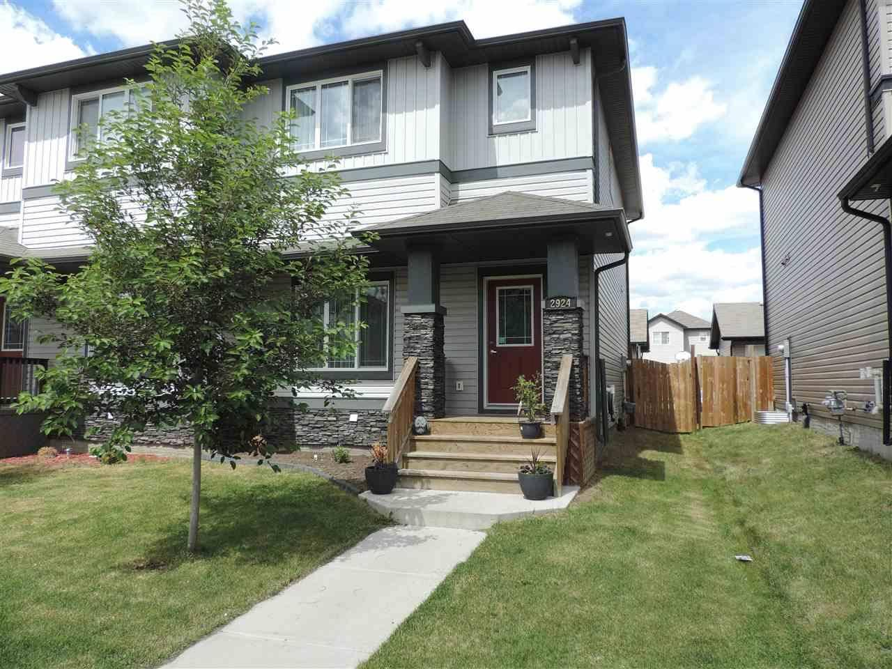 Townhouse for sale at 2924 17 Ave Nw Edmonton Alberta - MLS: E4162160