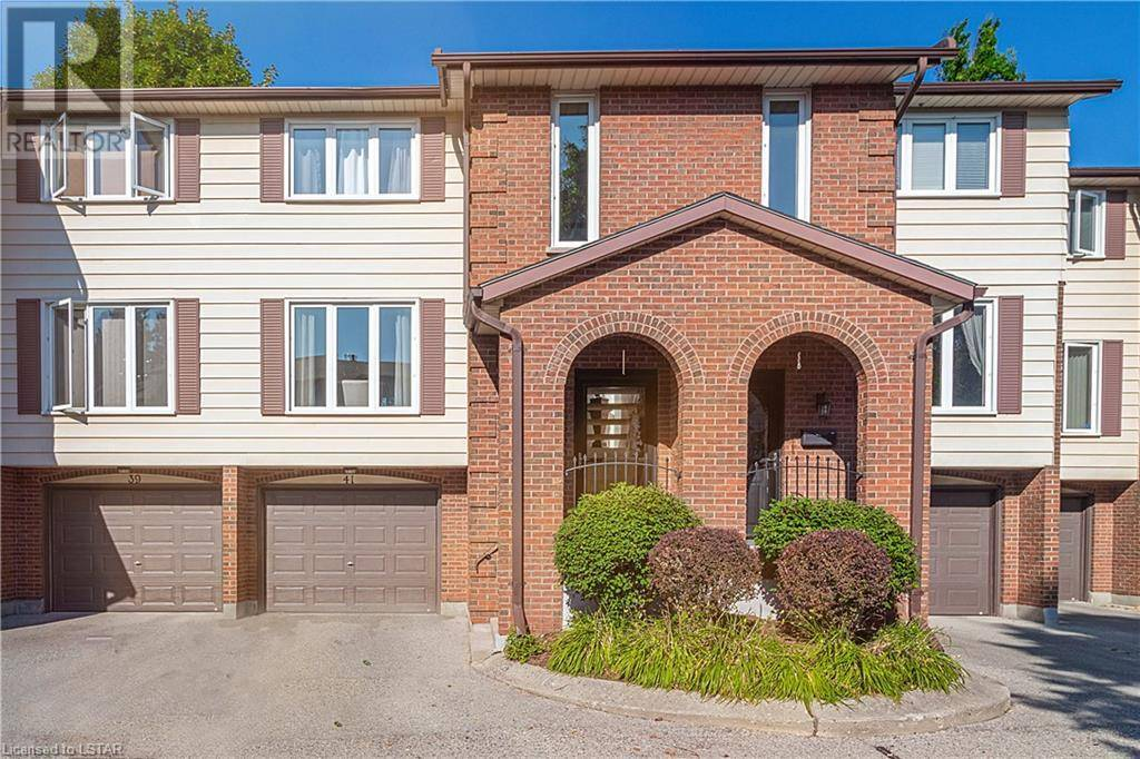 Townhouse for sale at 41 Wilkins St Unit 295 London Ontario - MLS: 215125