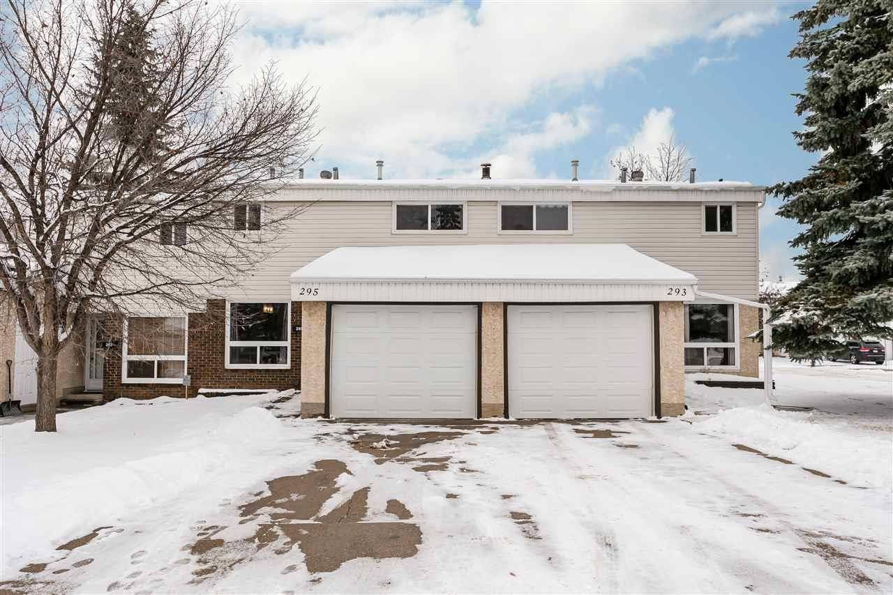Townhouse for sale at 295 Grandin Vg  St. Albert Alberta - MLS: E4179773