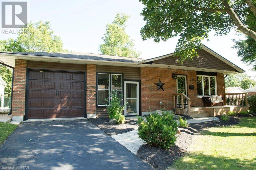 House for sale at 295 Helen Dr Strathroy Ontario - MLS: 222440