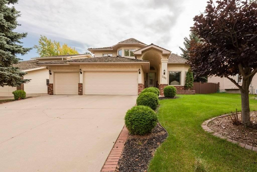 House for sale at 296 Rhatigan Rd Nw Edmonton Alberta - MLS: E4173834