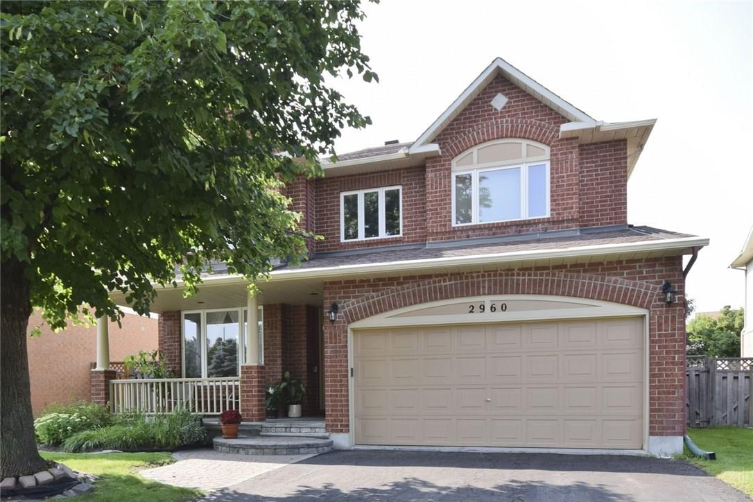 Removed: 2960 Sable Ridge Drive, Ottawa, ON - Removed on 2018-09-24 19:03:04
