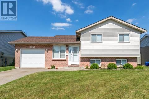 House for sale at 2962 Alderbrook Dr Windsor Ontario - MLS: 19021774