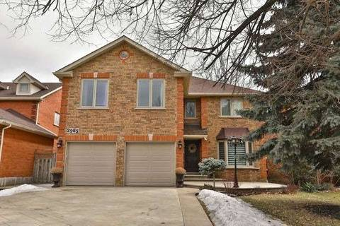 House for sale at 2965 Pettigrew Cres Mississauga Ontario - MLS: W4403894