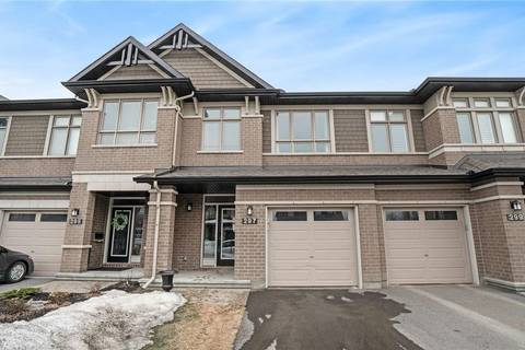 Townhouse for sale at 297 Shinleaf Cres Ottawa Ontario - MLS: 1145050