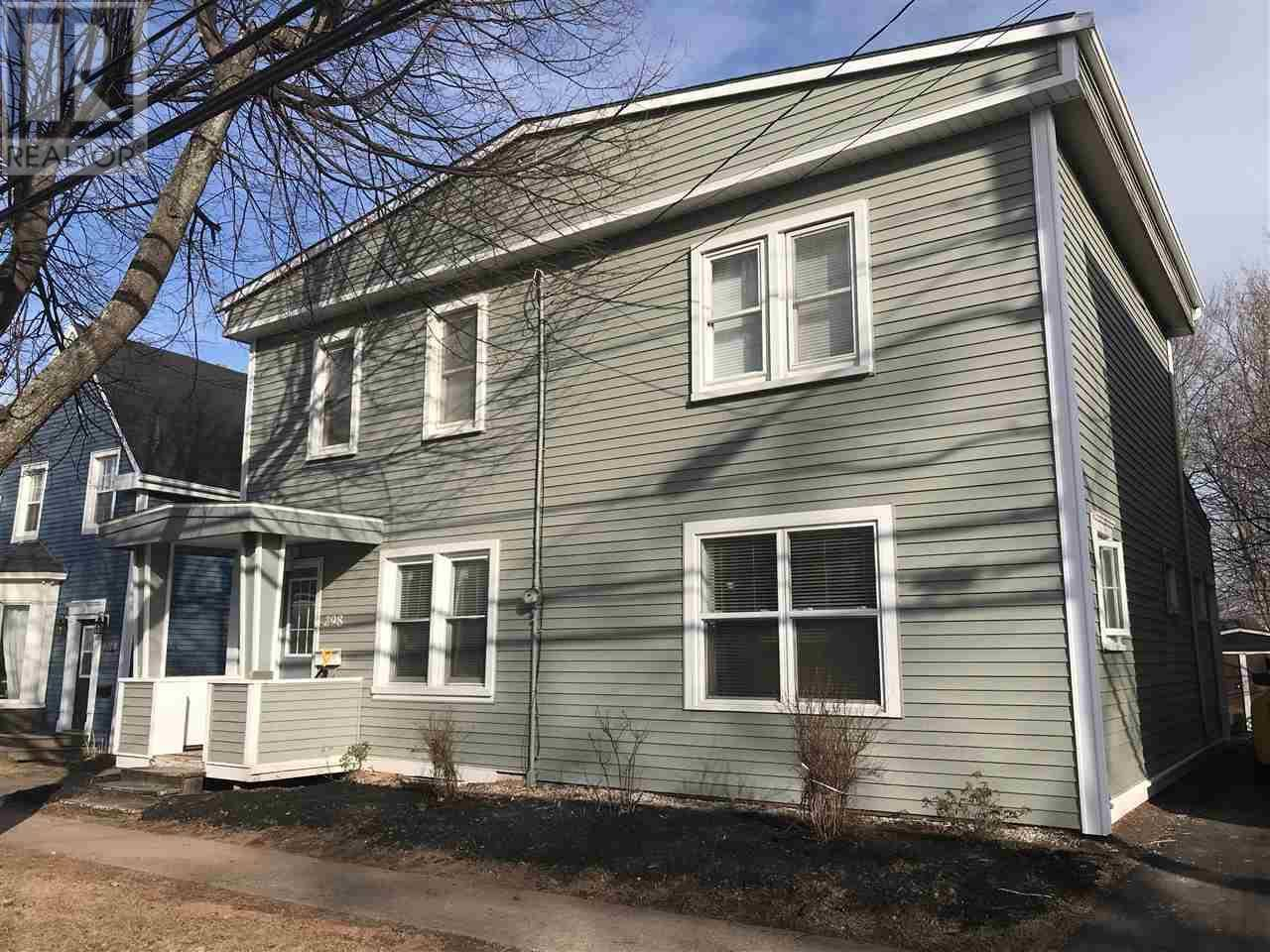 House for sale at 298 Fitzroy St Charlottetown Prince Edward Island - MLS: 202003991