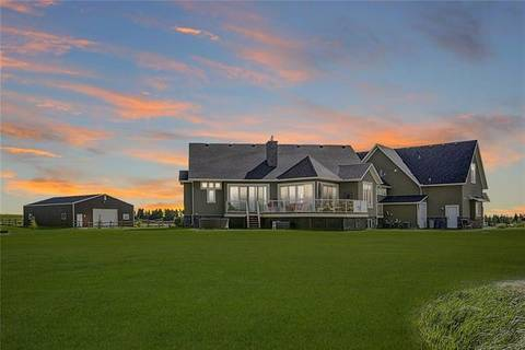 House for sale at 298084 27 St West Rural Foothills County Alberta - MLS: C4253612