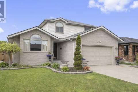 House for sale at 2983 Jennifer Dr Windsor Ontario - MLS: 19018549