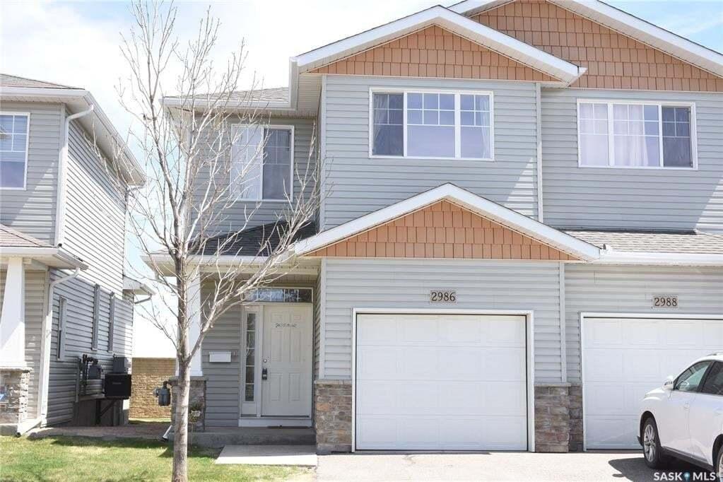 Townhouse for sale at 2986 Cranbourn Cres Regina Saskatchewan - MLS: SK809406