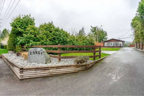 House for sale at 29861 Dewdney Trunk Rd Mission British Columbia - MLS: R2357825