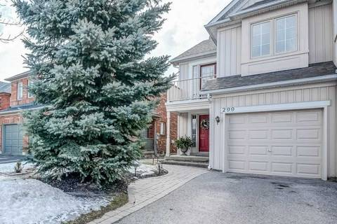 Townhouse for sale at 299 Hollandview Tr Aurora Ontario - MLS: N4386303