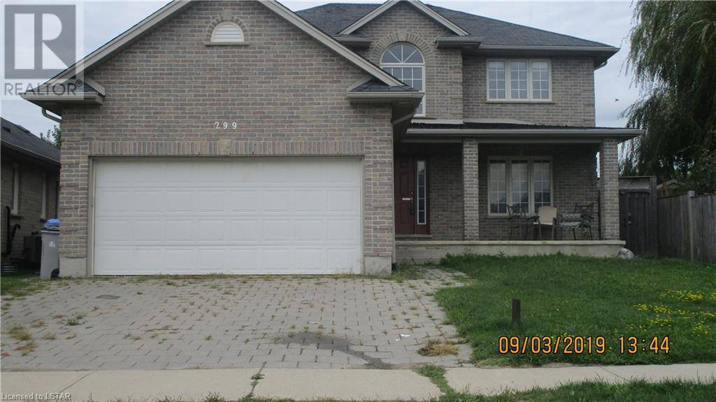 House for sale at 299 Thorne Dr Strathroy Ontario - MLS: 221499