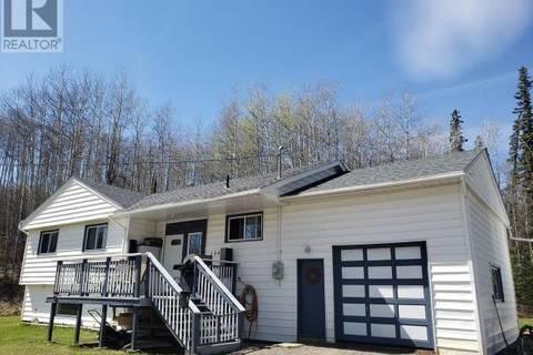 House for sale at 2995 Nichols Sub  Chetwynd British Columbia - MLS: 178257