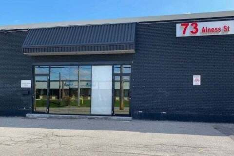 Commercial property for lease at 73 Alness St Apartment 2A Toronto Ontario - MLS: W4740690