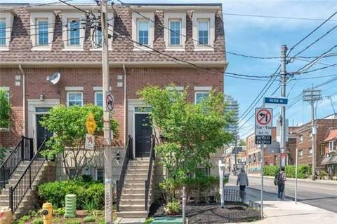 Townhouse for rent at 2 Alcina Ave Toronto Ontario - MLS: C4749185