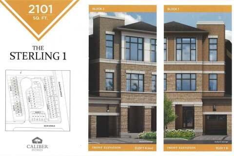 Townhouse for sale at Blk 2 Street A  Unit 2A Toronto Ontario - MLS: W4776747
