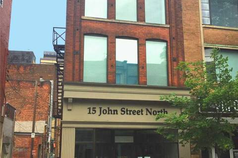 Commercial property for lease at 15 John St Apartment 2C Hamilton Ontario - MLS: X4333029