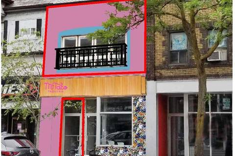 Commercial property for lease at 521 Bloor Street St Apartment 2nd Fl Toronto Ontario - MLS: C4371567