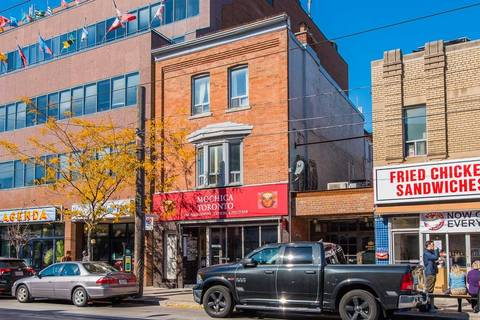 Property for rent at 614 College St Unit 2nd Flr Toronto Ontario - MLS: C4452069