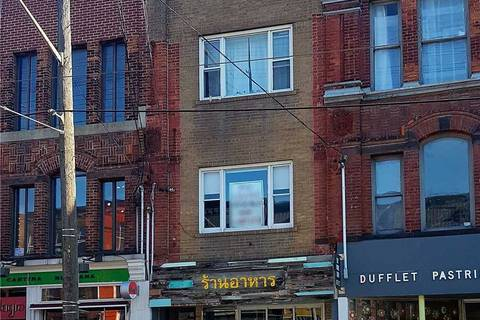 Commercial property for lease at 785 Queen St Apartment 2nd Flr Toronto Ontario - MLS: C4668377