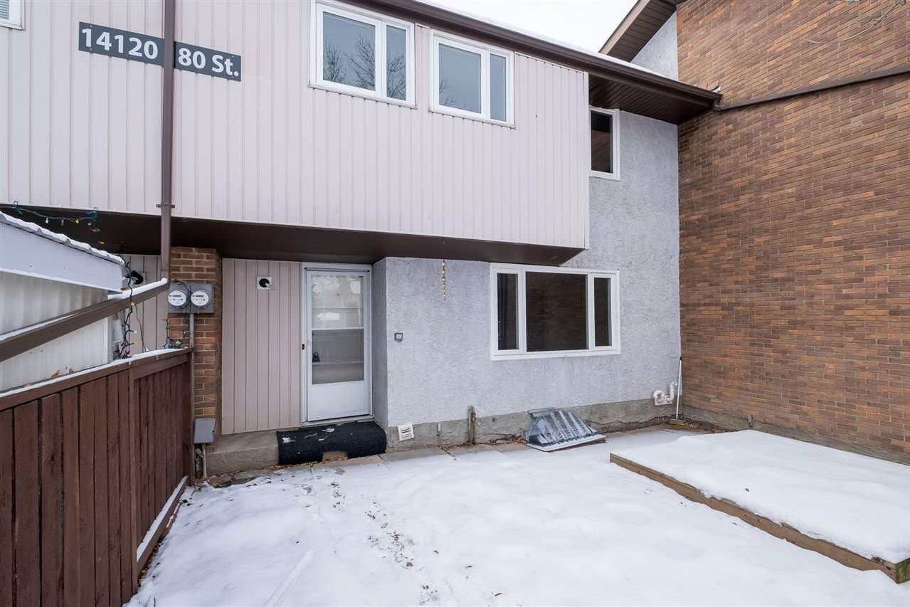 Townhouse for sale at 14120 80 St NW Unit 3 Edmonton Alberta - MLS: E4223268