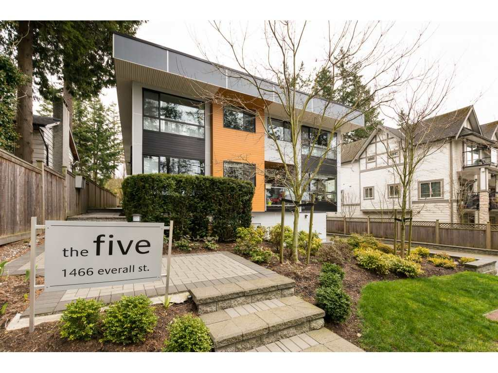 For Sale: 1466 Everall Street, White Rock, BC | 3 Bed, 4 Bath Townhouse for $1,045,000. See 20 photos!