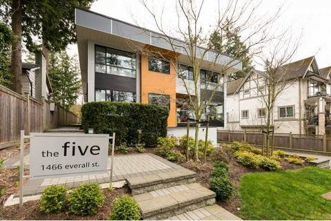 Townhouse for sale at 1466 Everall St Unit 3 White Rock British Columbia - MLS: R2351081