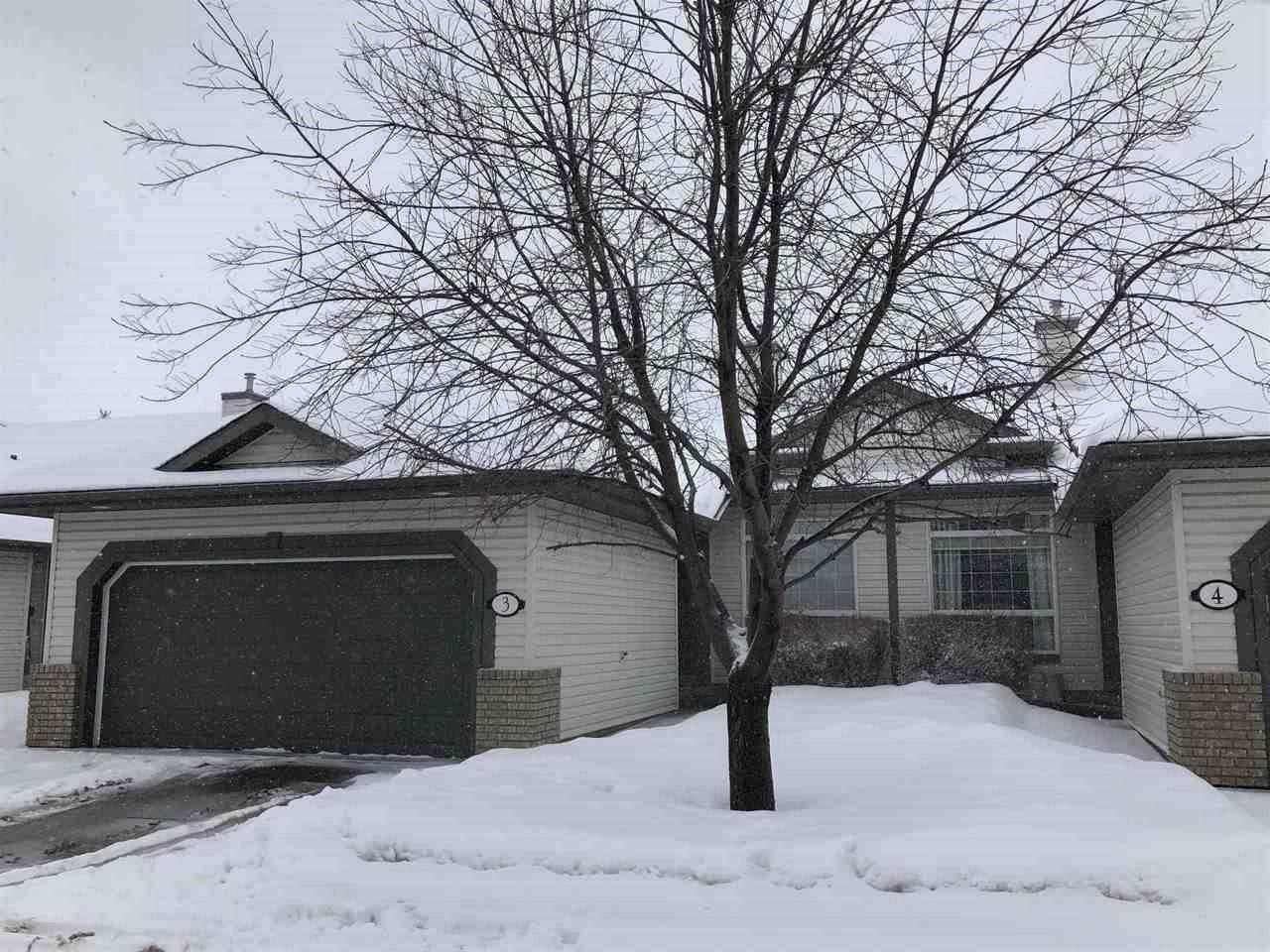 Townhouse for sale at 1752 Glastonbury Blvd Nw Unit 3 Edmonton Alberta - MLS: E4187503