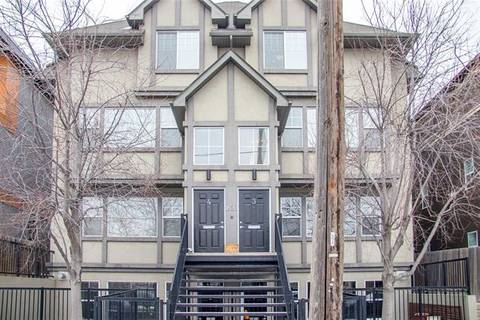 Townhouse for sale at 1820 34 Ave Southwest Unit 3 Calgary Alberta - MLS: C4290366