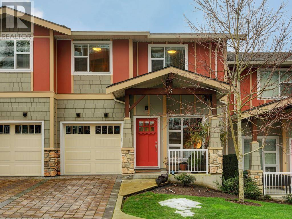 Townhouse for sale at 1900 Watkiss Wy Unit 3 Victoria British Columbia - MLS: 420196