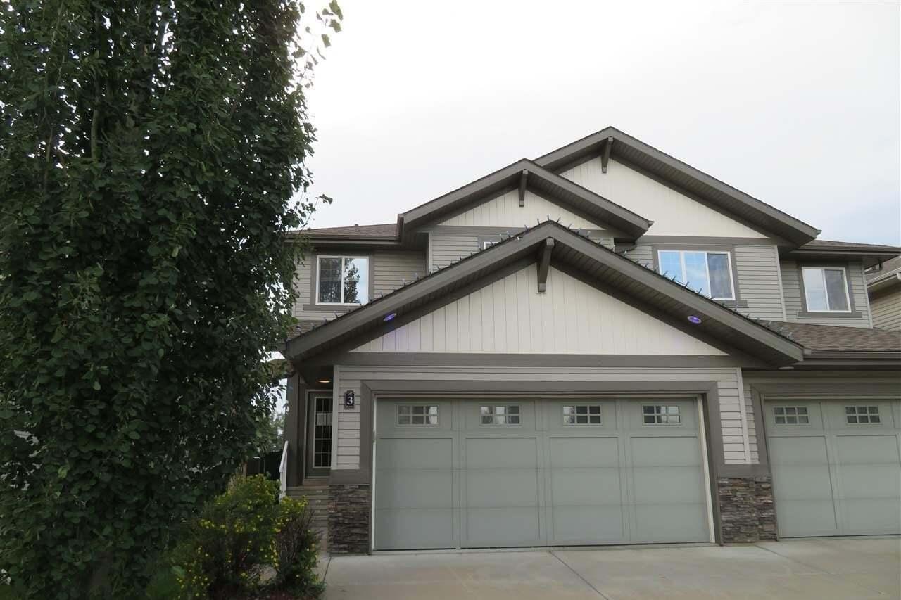 Townhouse for sale at 1901 126 St SW Unit 3 Edmonton Alberta - MLS: E4192402