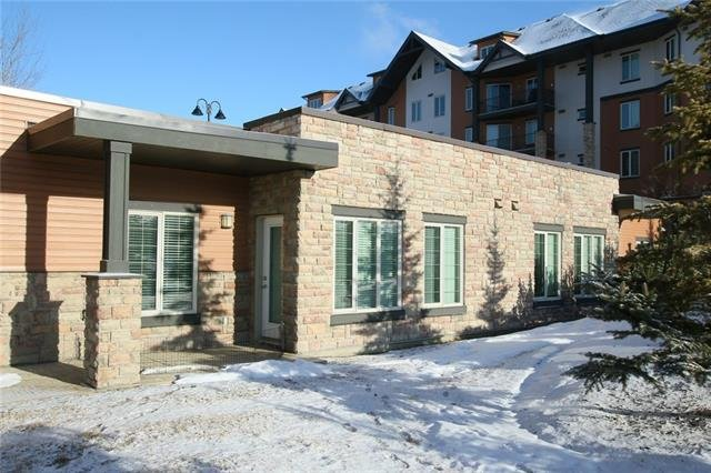 For Sale: 220 Sunset Square , Cochrane, AB | 2 Bed, 2 Bath Condo for $299,000. See 19 photos!