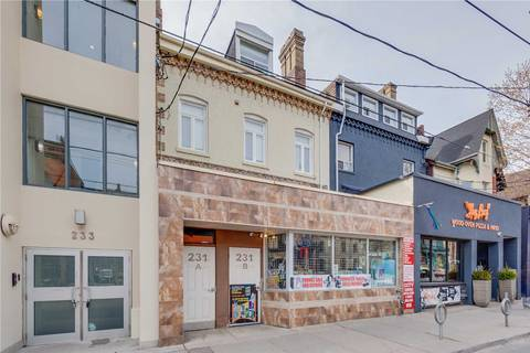 Commercial property for lease at 231 Carlton St Apartment 3 Toronto Ontario - MLS: C4464754