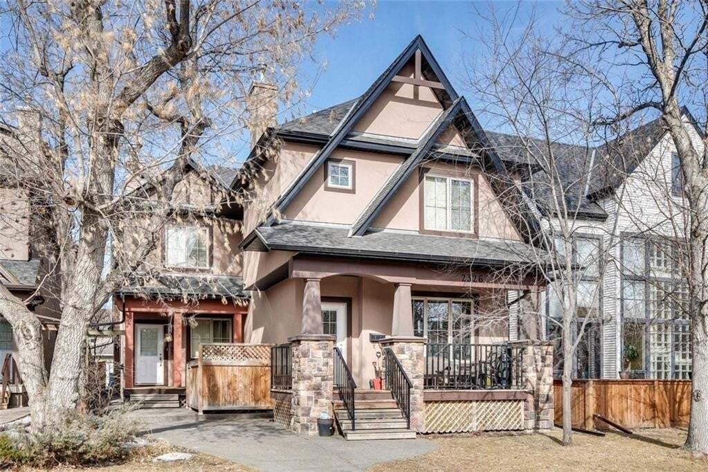 Townhouse for sale at 2326 2 Av NW Unit 3 West Hillhurst, Calgary Alberta - MLS: C4299141