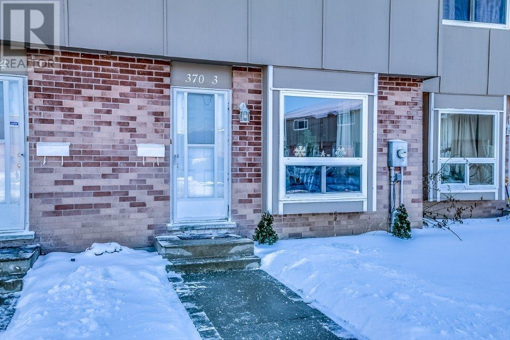 For Sale: 370 Springbank Avenue, Woodstock, ON | 3 Bed, 2 Bath Townhouse for $199,900. See 27 photos!
