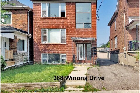 Townhouse for rent at 388 Winona Dr Unit #3 Toronto Ontario - MLS: C4917639