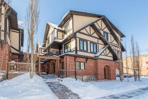 Townhouse for sale at 420 8 St Northwest Unit 3 Calgary Alberta - MLS: C4226321