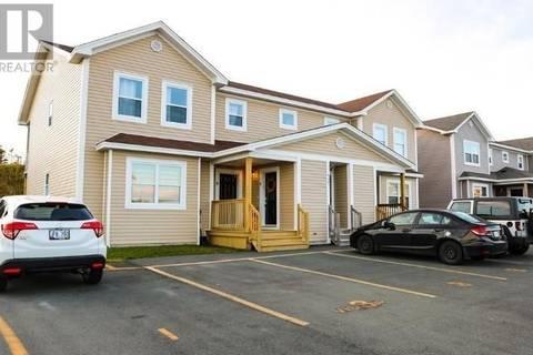 House for sale at 430 Blackmarsh Rd Unit 3 St. John's Newfoundland - MLS: 1195895
