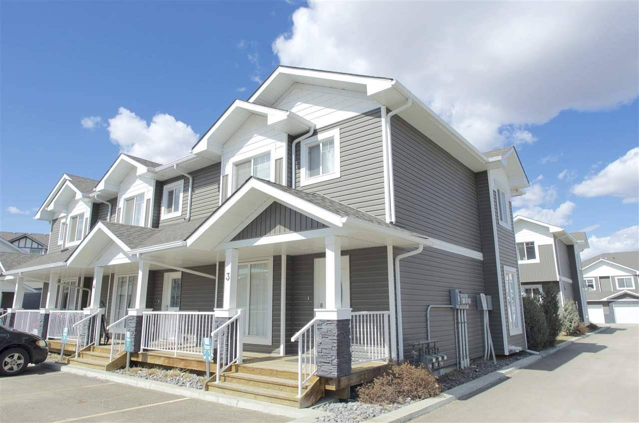 Townhouse for sale at 500 Grove Dr Unit 3 Spruce Grove Alberta - MLS: E4194931