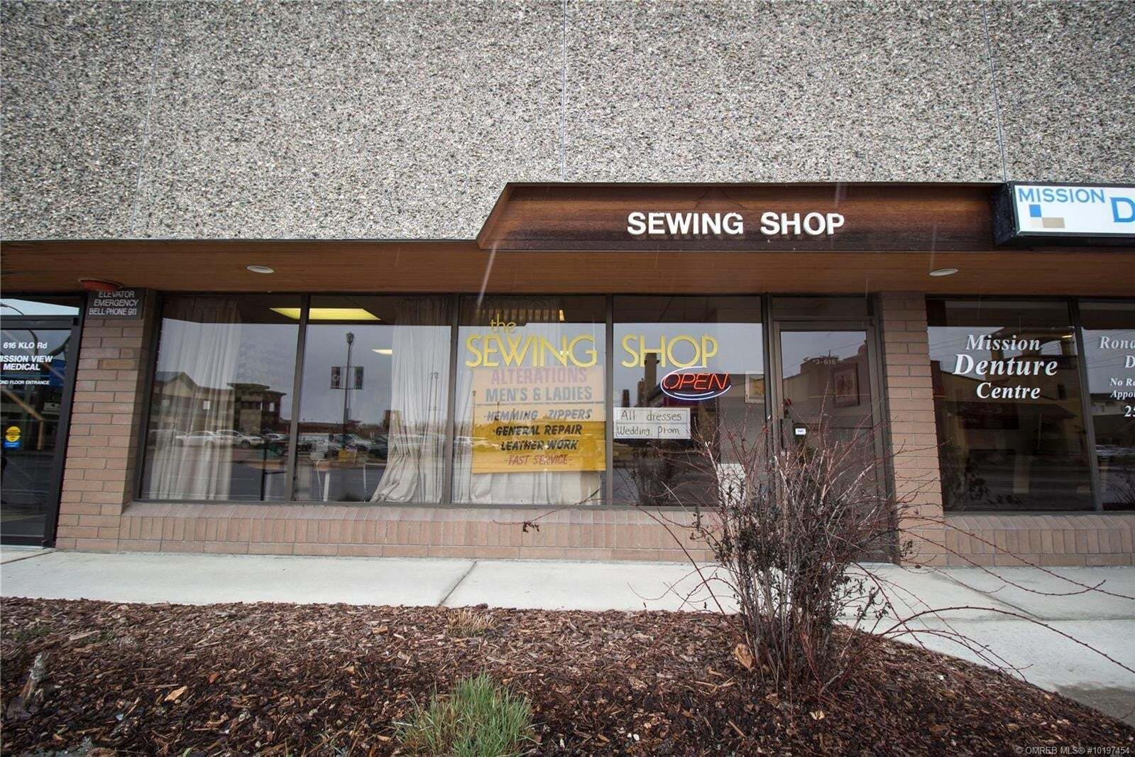 Commercial property for sale at 616 Klo Rd Unit 3 Kelowna British Columbia - MLS: 10197454