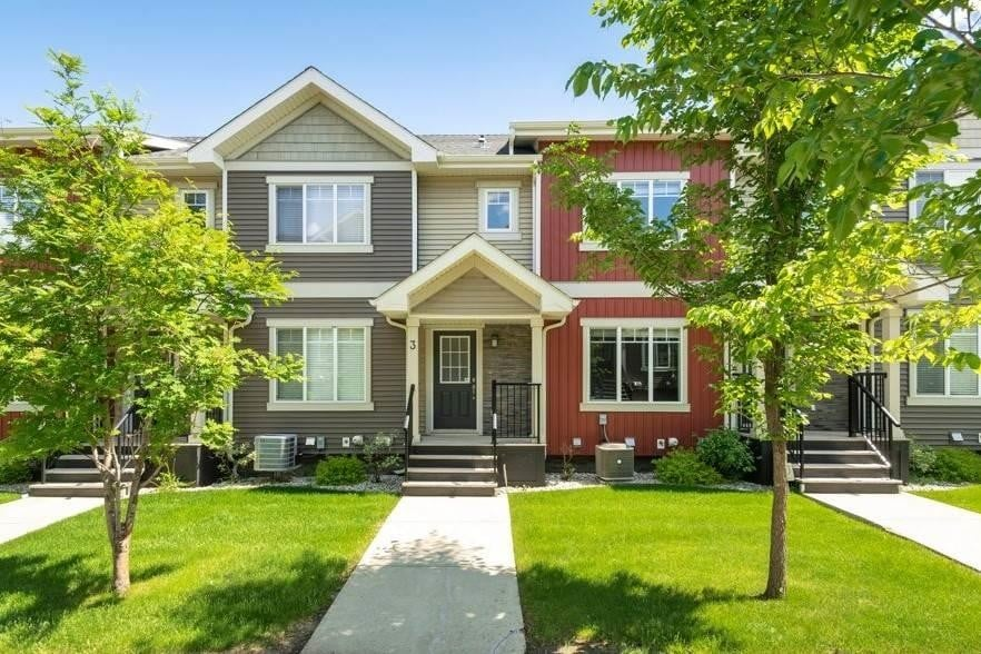 Townhouse for sale at 675 Albany Wy NW Unit 3 Edmonton Alberta - MLS: E4202244