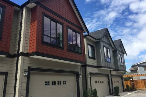 Townhouse for sale at 7388 Railway Ave Unit 3 Richmond British Columbia - MLS: R2369838