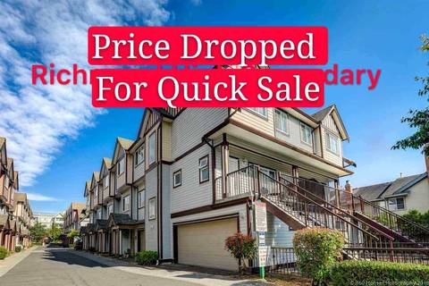 Townhouse for sale at 7700 Abercrombie Dr Unit 3 Richmond British Columbia - MLS: R2401595