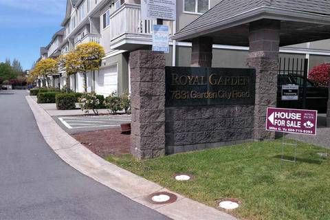 Townhouse for sale at 7831 Garden City Rd Unit 3 Richmond British Columbia - MLS: R2367347