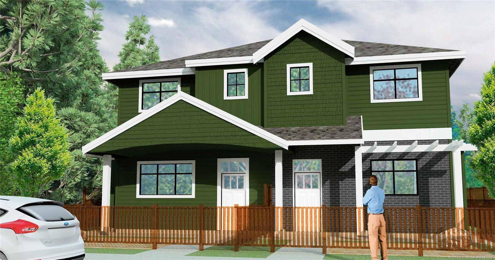 Townhouse for sale at 805 Burne Ave Unit 3 Kelowna British Columbia - MLS: 10187592