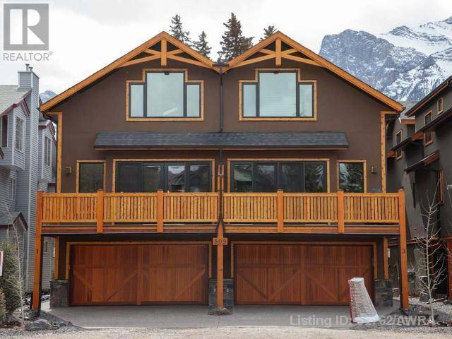 Townhouse for sale at 806 6th St Unit 3 Canmore Alberta - MLS: 51762