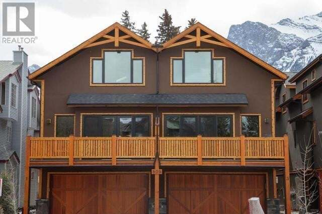 Townhouse for sale at 806 6th St Unit 3 Canmore Alberta - MLS: AW51762
